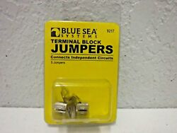 Blue Sea Systems Nickle Plated Brass Terminal Black Jumpers 9217 5 Jumpers