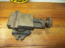 Small Precision Vise Bridgeport Clausing And Other Small Milling Machine