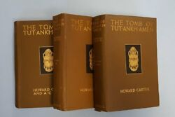 Book The Tomb Of Tutankhamen By Howard Carter And A C Mace 1930 1927 1933