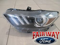 15 Thru 17 Mustang Oem Genuine Ford Parts Hid Head Lamp Light Left Driver - New