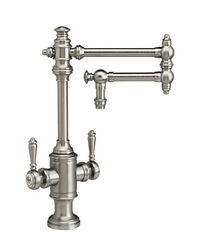 Waterstone 8010-12-sn Towson Two Handle Kitchen Faucet - 12 Articulated Spout