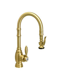 Waterstone 5200-ac Traditional Plp Prep Size Pull Down Faucet, Antique Copper