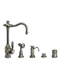 Waterstone 4800-4-wb Annapolis Prep Faucet - 4pc. Suite Weathered Brass