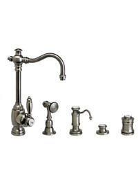 Waterstone 4800-4-tb Annapolis Prep Faucet - 4pc. Suite Tuscan Brass