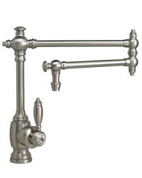 Waterstone 4100-18-ac Towson Kitchen Faucet - 18 Articulated Spout