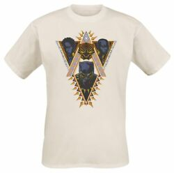 Marvel Black Panther Wakanda Tribal Faces Sand Mens T Shirt
