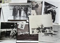 Aviation Pioneering Pilots, Racing, Stunt, Record Setting Signed Photographs .5