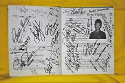 Nascar And Motorsports Unbelivable Collection Of Autographs