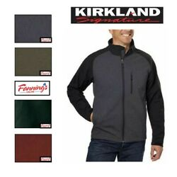 Sale Kirkland Signature Menand039s Soft Shell Jacket Variety Size And Color B15