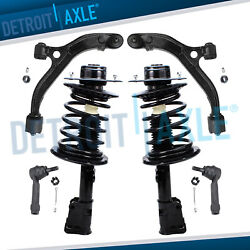 Front Strut Lower Control Arm Outer Tie Rod Kit For Town Country Caravan Voyager