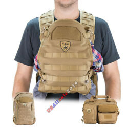 Tactical Baby Gear Carrier  Diaper Bag  Daypack TBG Dady Gear Dad Menly USA