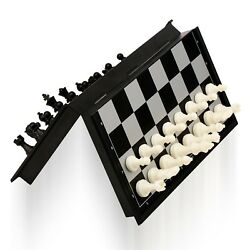 magnetic Travel chess set With folding chess board Educational toys camping gam
