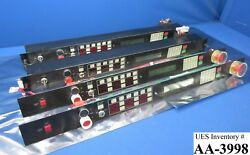Gasonics A89-013-01 Control Panel Pcb Led And Interface Pca G0-2670 Lot Of 4 Used