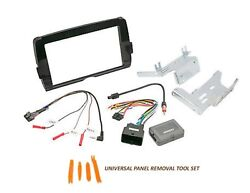 For Harley Davidson Scosche Double Din Install Kit Touring 2014-up Hd14uddbn