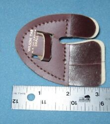 Small Left Hand Ben Pearson Leather Finger Tab--recurve/traditional Archery Bow