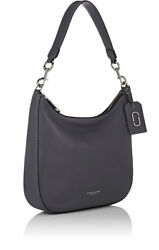 Marc Jacobs - Women's Leather Gotham Hobo Bag GRAY Leather (NWT) Brand New 2017