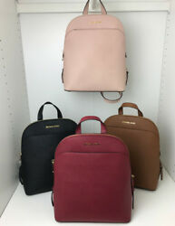 NWT Gorgeous Michael Kors Emmy Leather Backpack Purse Bag Ballet Pink
