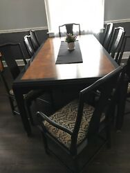 dining Set With Matching Hutch And Bar/server  11pieces   By Century