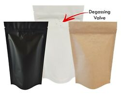 Stand Up Pouch With Valve Pouches Mylar Pouch Zip Lock Heat Seal Coffee Bag
