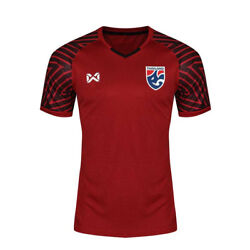 2018 Thailand National Team Thai Football Soccer Jersey Red Warrix All Size
