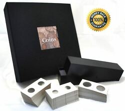 Coin Currency Collecting Starter Bundle Prestige Album Pocket Pages Holders Box