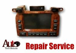 2004-2007 Toyota Highlander Navigation and Climate Control REPAIR SCREEN