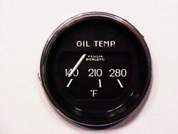 Ferrari 308 Dashboard Engine Oil Temperature Gauge_veglia_white Needle_oem_new
