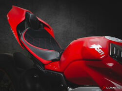 Sport Motorcycle Rider And Passenger Seat Covers Ducati Panigale V4 18-20 Luimoto