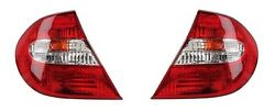 02 03 04 Toyota Camry Taillight Pair Set Both NEW Rear Taillamp