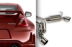 Ark Performance Dts Exhaust System W/ Burnt Tips For 09+ Nissan 370z