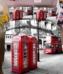 Telephone Booth 3d Printing Duvet Quilt Doona Covers Pillow Case Bedding Sets