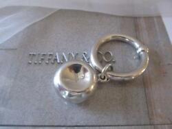 Vintage And Co. Baby Rattle And Teether Sterling Silver