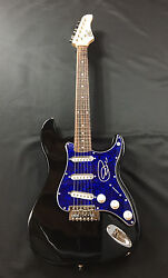 Gfa Former Yes Frontman Jon Anderson Signed Electric Guitar J1 Coa