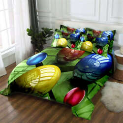 Rolling Bowling 3d Printing Duvet Quilt Doona Covers Pillow Case Bedding Sets