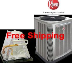 4 Ton R-410A 14SEER Mobile Home Condensing Unit  Evaporator Coil Combination