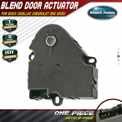 Blend Door Actuator for Chevrolet Suburban Tahoe Avalanche Silverado 1500 2500HD