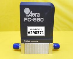 Aera Fc-980 Mass Flow Controller Mfc 2 Slm Nh3 Used Working