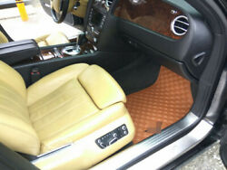 Leather Luxury Car Floor Mats Tailored For Bentley Continental Flying Spur 2005-