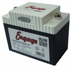 Motorcycle Lithium Ion Battery 135cca Powersports Starting Batteries Lightweight