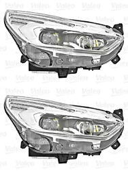 Headlights Pair LED Fits FORD Galaxy 2015-