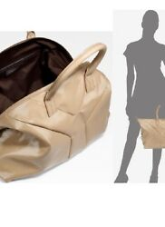 Ysl Easy Y Satchel Excellent Condition Large Size Nude Patent Leather