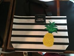 New With Tags Striped Fashion Tote Bags Tote Bag Beach Pool Summer $6.99