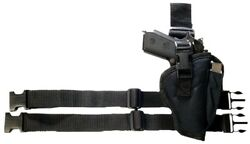 TACTICAL LEG Thigh HOLSTER Bulldog Extreme WTAC-8R Size 8 Most Large Frame Autos