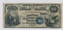 Rc0244 1882 National Currency Brazil 10 Chart 5267 Value Back Rare Combine