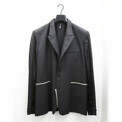 New Mens Dior Homme Blazer Jacket With Inverted Details Size 54 Bnwt Rrp £1300