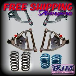 1971 - 1972 C10 W/coil Spring Rear And Disc Brakes Complete Djm Plus Kit