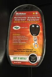 BULLDOG SECURITY REMOTE VEHICLE CAR STARTER SYSTEM RS82B Start & Stop - New