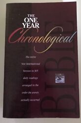 The One Year Chronological Bible 1995 Paperback
