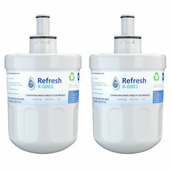 Refresh Replacement Water Filter - Fits Samsung Wf289 Refrigerators 2 Pack