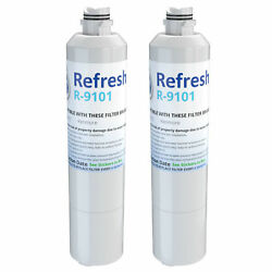 Refresh Replacement Water Filter - Fits Samsung Rs261mdrs Refrigerators 2 Pack